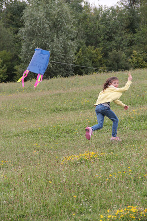 The Forest of Marston Vale - Forest Centre: Previous years we've done kite making activities - perfect place to try them out afterwards!