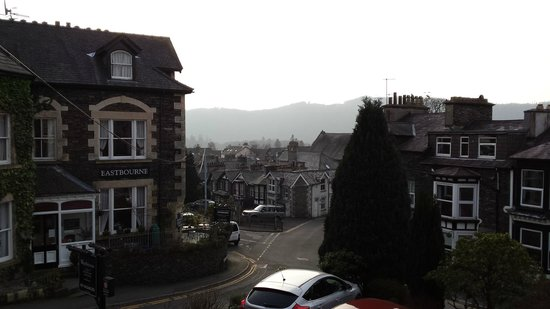 The Westbourne: View from our room (#2) The hills would look great on a clear day