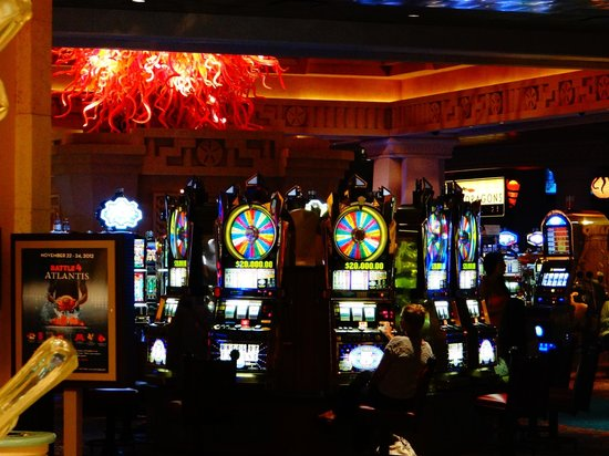 Casino at Atlantis Resort : très beau casino