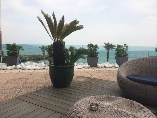 Pullman Cannes Mandelieu Royal Casino : Vue depuis la réception