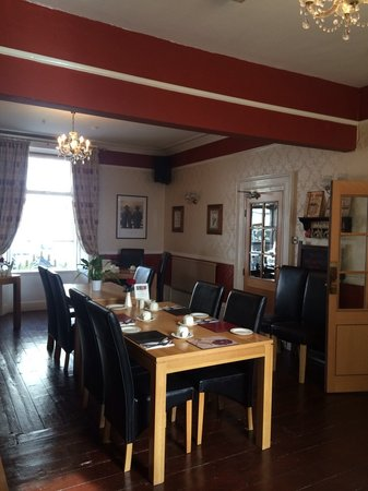 The Bromley: Guest's dining room
