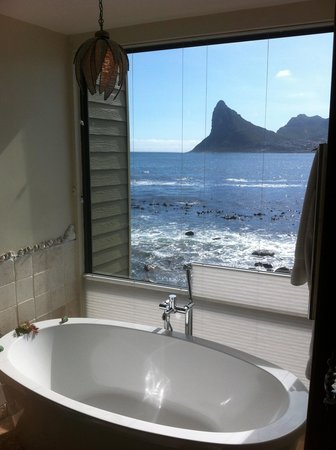 Tintswalo Atlantic : View from our bathroom