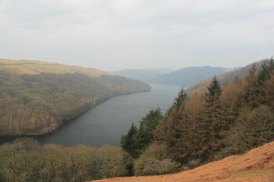 Llyn Brianne Dam and Reservoir