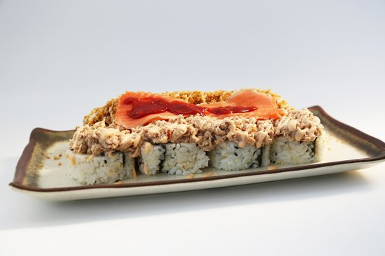 Paradise Sushi: Try our fantastic Boss Roll!