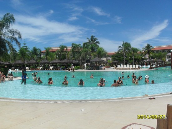 Grand Palladium Imbassai Resort & Spa: haciendo poolbiking