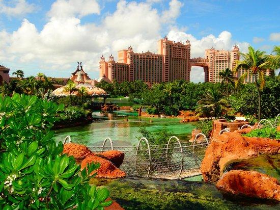 Le parc aquatique Aquaventure d'tlantis Paradise Island : le plus beau des resorts jamais vu !!