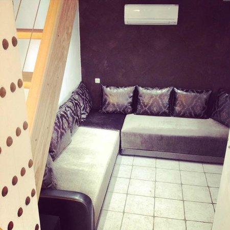 Le Ryad Boutique Hôtel: salon orientale maison duplex