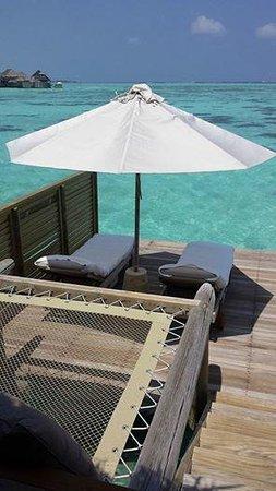 Gili Lankanfushi Maldives : Villa Deck