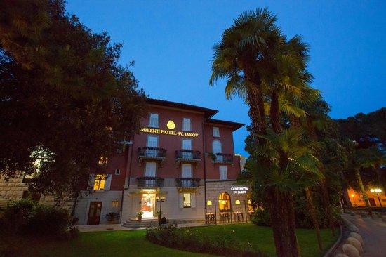 Restaurant Sveti Jakov : Hotel Sveti Jakov & Cantinetta Sveti Jakov night