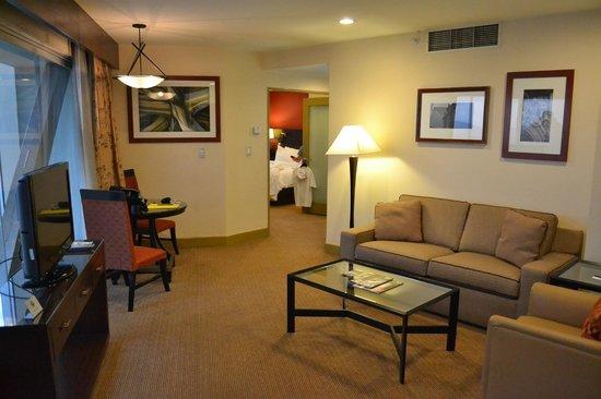 Le Meridien Mexico City: Partial view of suite