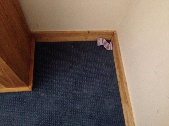 Residence Le Centaure & Spa: Chaussette à notre arrivée dans une chambre : le ménage est très bien fait !!!