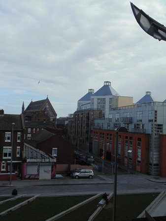 Maldron Hotel Smithfield : from the balcony