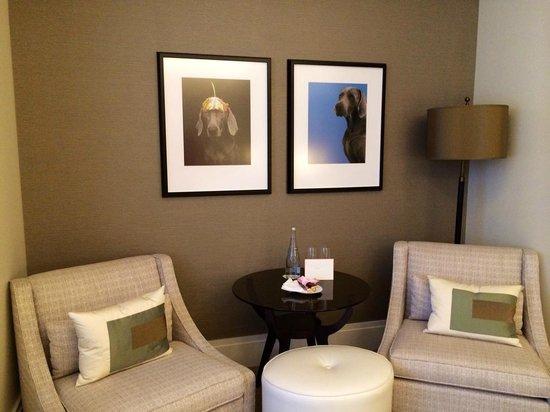 The Langham, Chicago : Sitting Area