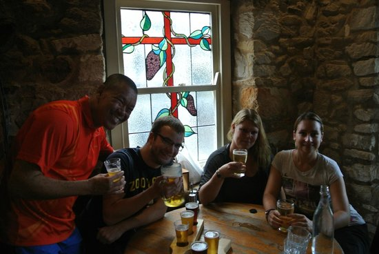 The Hahndorf Inn: Me and my German friends