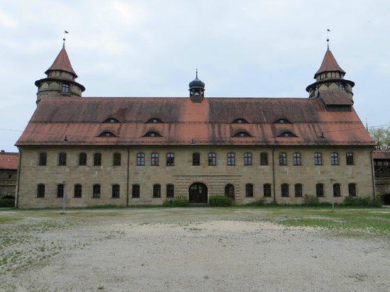 Castle Lichtenau: гуляем по внутреннему двору