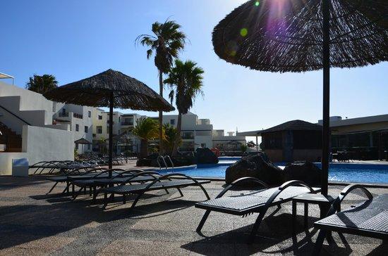 Hotel Vitalclass Lanzarote: Liegebereich