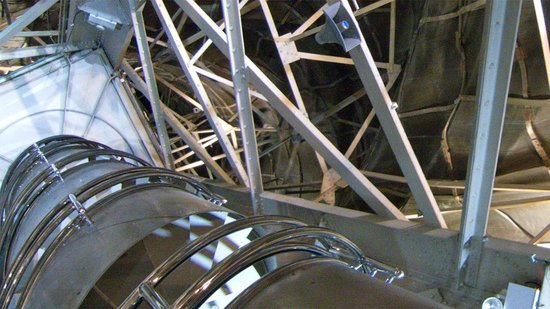 Estatua de la libertad: The spiral staircase to the Crown