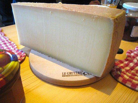 La ferme du bourgoz : it's the cheese