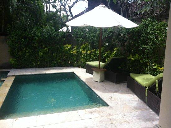 Kamuela Villas and Suite Sanur: piscine privée