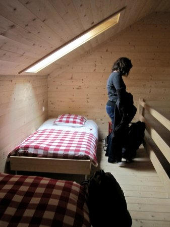 La ferme du bourgoz : upstairs loft - family room
