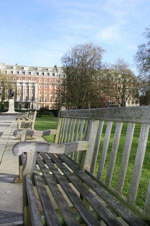 Millennium Hotel London Mayfair : parc en face de l'hotel
