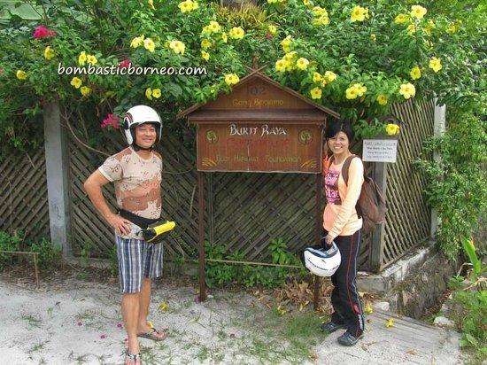 Bukit Raya Guesthouse : Outside the gate