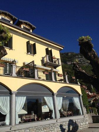 Hotel Ristorante Taverna Bleu : Our balcony