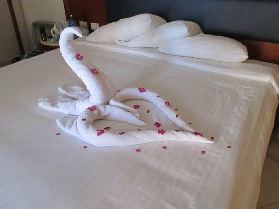 Rehana Sharm Resort: bed!