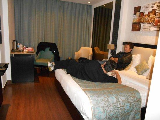 Hotel City Star: Chambre Deluxe