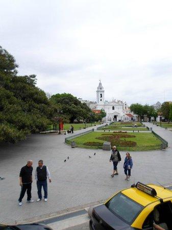 Buenos Aires Bus: vista de cima do ônibus, muito bom