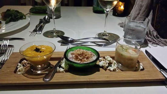 The Edge Restaurant Bar & Sushi: The Ceviche trio