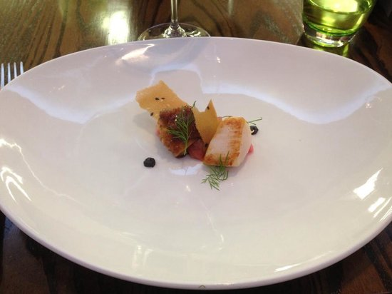 South Lodge Hotel: The Scallop