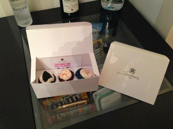 Sanctuary Hotel New York: Birthday Treat
