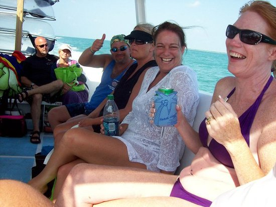 Clearly Unique Charters: Having fun in the shade