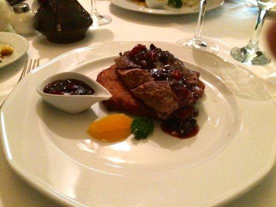 Cafe Bouchon : Excellent duck steak