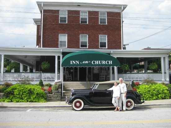 Inn on Church: Owners, Joe & Stephanie Carlton