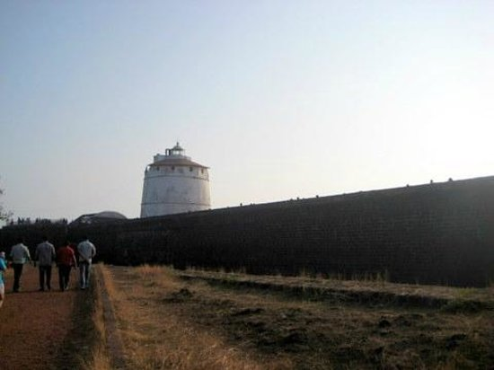 Fort Aguada : outside the fort