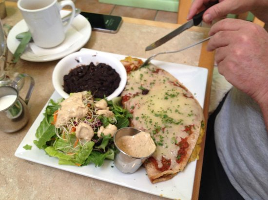 Laughing Seed Cafe: East West Enchilada