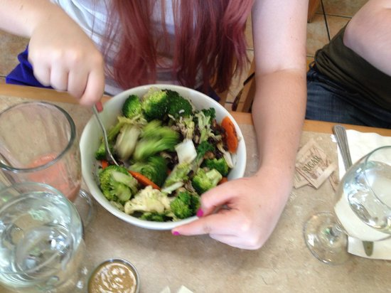 Laughing Seed Cafe: Harmony Bowl