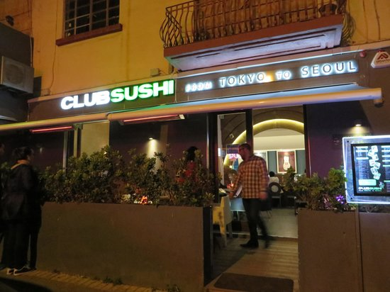 Club Sushi from Tokyo to Seoul: locale