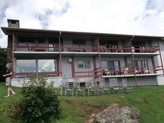 Pisgah Inn: One of the buildings