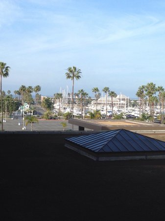 Crowne Plaza Redondo Beach & Marina: Portofino Hotel in the distance, on the ocean. Stay there instead!