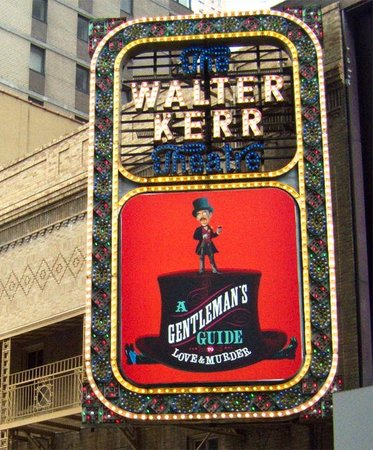 Inside Broadway Tours: The Walter Kerr Theatre on West 48th St.