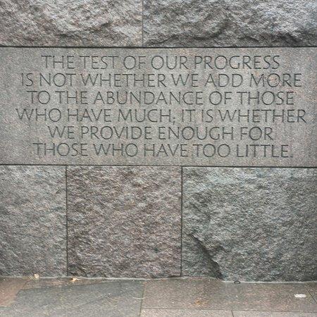 Franklin Delano Roosevelt Memorial: Memorial