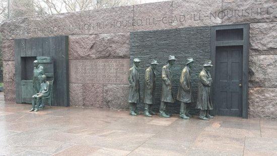 Franklin Delano Roosevelt Memorial: FDR