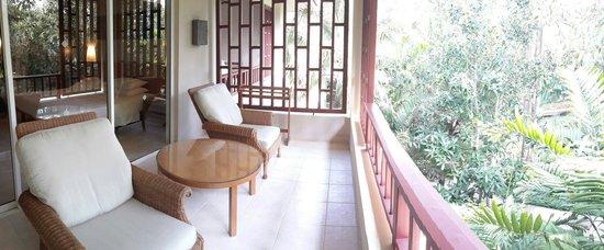Hyatt Regency Hua Hin : Guest room balcony