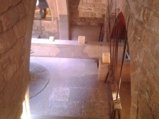 RV Hotel Palau Lo Mirador: Escaleras hacia las habitaciones