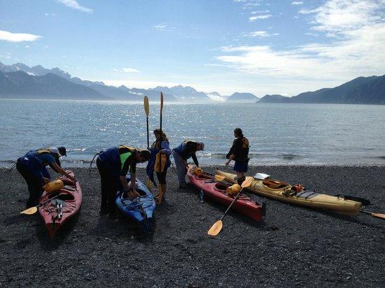 Kayak Adventures Worldwide: Kayaking Resurrection Bay July '13