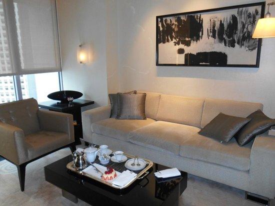 The Landmark Mandarin Oriental, Hong Kong: Sitting room
