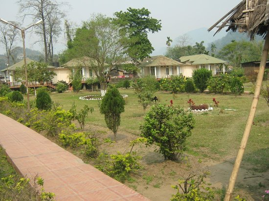 Bhalukpong Tourist Lodge: garden